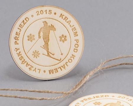 příklad gravírování: pamětní medaile